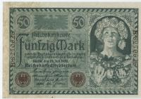 1920, Reichsbanknoten 1915-1924 , 50 Mark